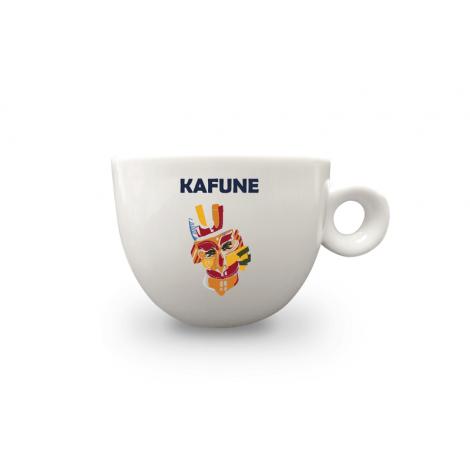 Set 6 x cesti si farfurii cappuccino KAFUNE