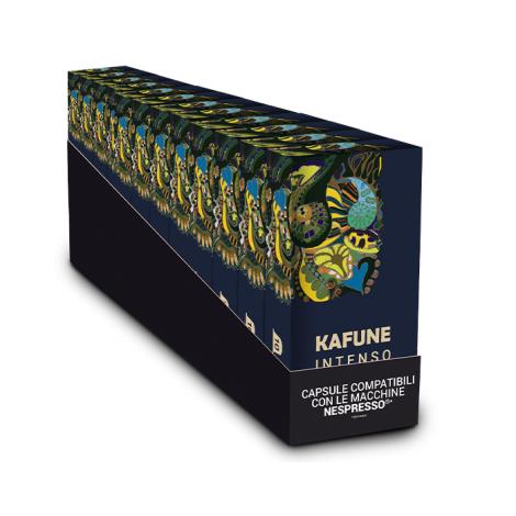 Pachet 120 capsule Kafune compatibile Nespresso - INTENSO