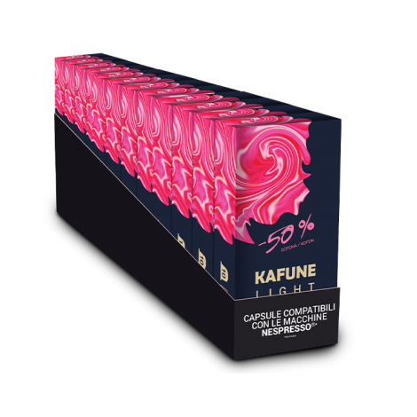 Pachet 120 capsule Kafune compatibile Nespresso - LIGHT